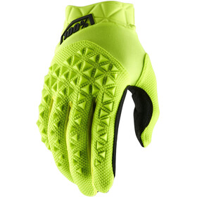 100% Airmatic Guantes, yellow/black